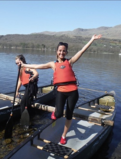 2021 canoeing in the lake district