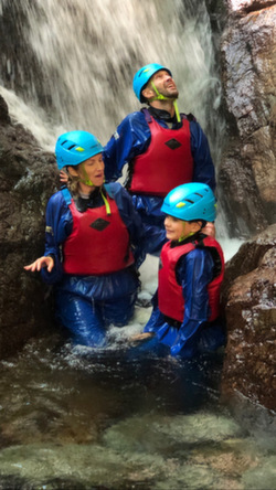 2021 family holiday adventures gorge walking
