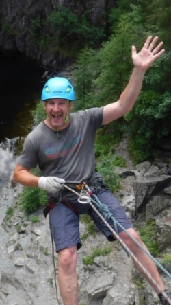 2021 abseiling stag weekend Coniston